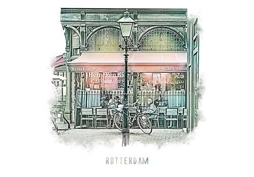 Ben Kleyn Rotterdam | Poster | Cafe Timmer | Vintage |