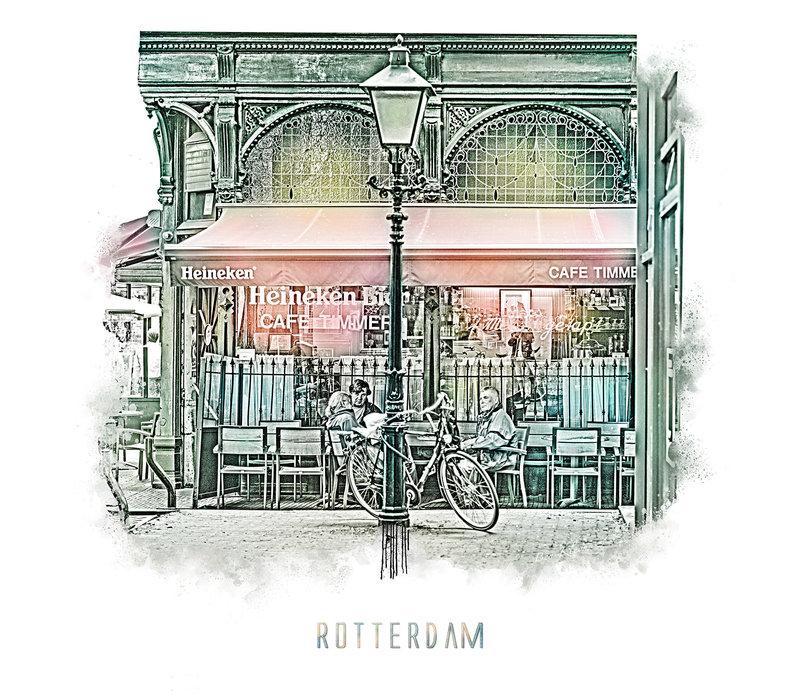 Rotterdam   Poster   Cafe Timmer   Vintage  
