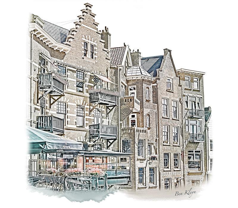 Rotterdam   Poster   Delfshaven 3   Vintage  