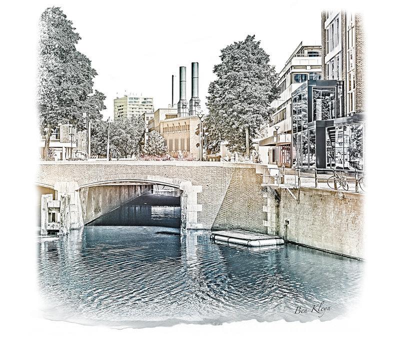 Rotterdam | Poster | Hoogstraat | Vintage |