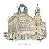 Ben Kleyn Rotterdam | Poster | Hotel New York 2 | Vintage |