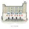 Ben Kleyn Rotterdam | Poster | Hotel New York 3 | Vintage |