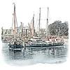 Ben Kleyn Rotterdam | Poster | Leuvenhaven | Vintage |
