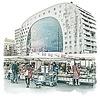 Ben Kleyn Rotterdam | Poster | Markthal 2 | Vintage |