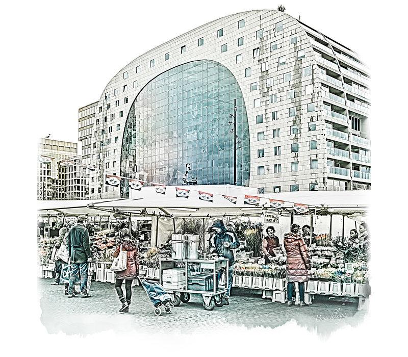 Rotterdam | Poster | Markthal 2 | Vintage |