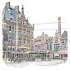 Ben Kleyn Rotterdam | Poster | Schiedamsedijk | Vintage |