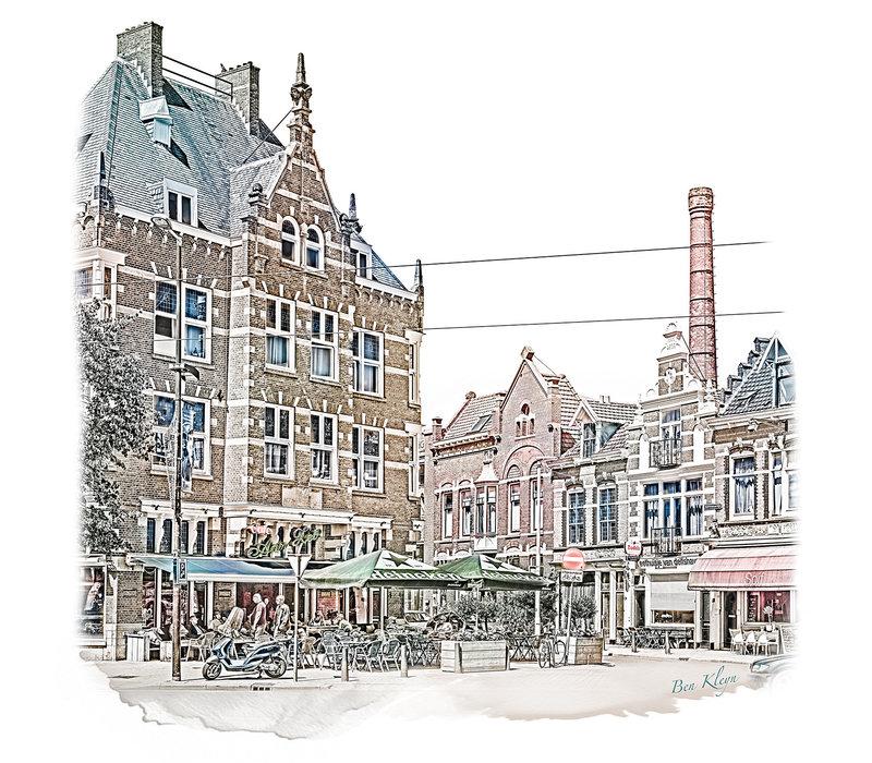Rotterdam | Poster | Schiedamsedijk | Vintage |