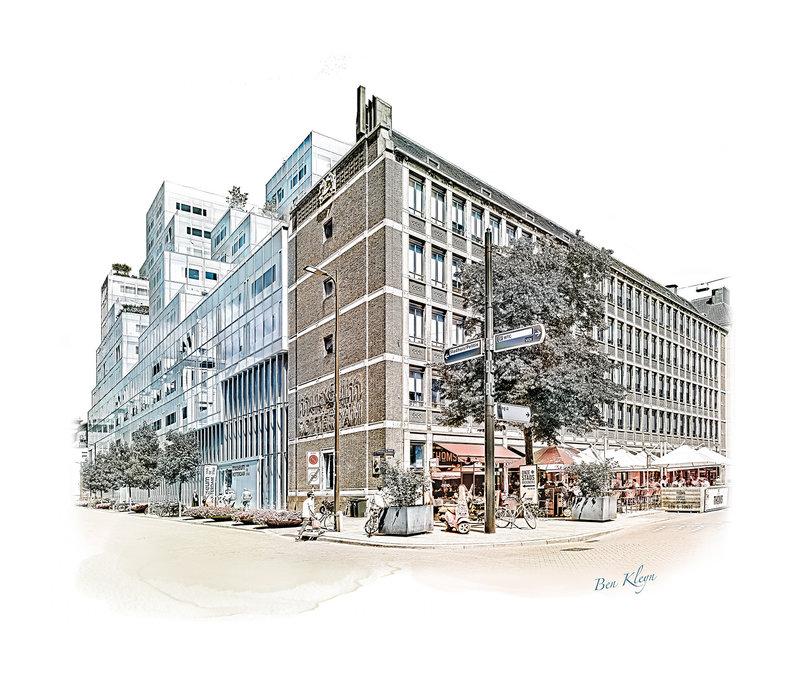 Rotterdam | Poster | Timmerhuis – Meent | Vintage |
