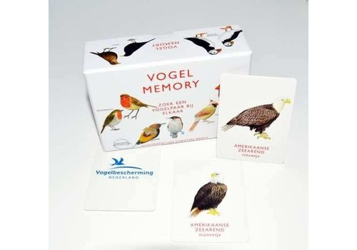 VBK media Memospel-vogels