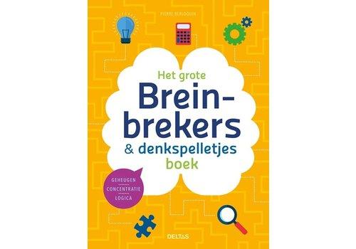 Deltas Het grote breinbrekers en denkspelletjes boek