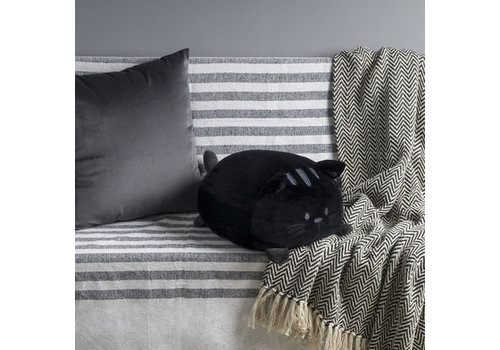 Balvi Cushion Sweet Kitty-black