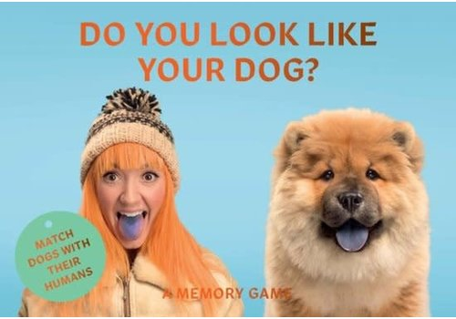 Bookspeed Do you look like your dog memory game