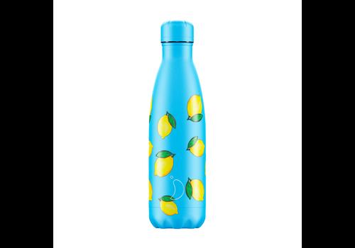 Chilly's Chilly's bottle 500ml Lemon