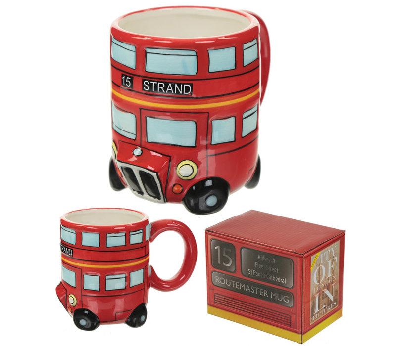 Mok als London bus