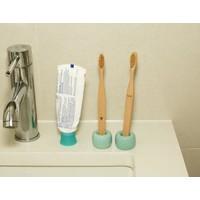 Nudie bamboo toothbrush set