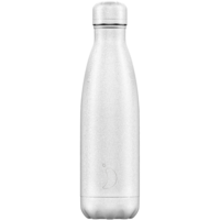 Chilly's thermosfles 500ml White Glitter