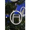 Cityshapes Decoratie/kerstbal - De Hef 8cm