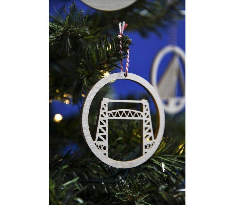Decoratie/kerstbal - De Hef 8cm