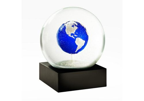 Cool snowglobes Sneeuwbol- Earth Blue