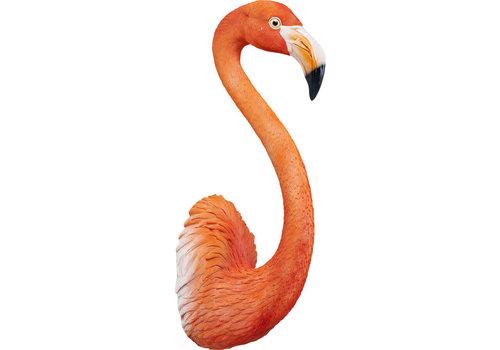 Karé Beeld- Flamingo uit de muur