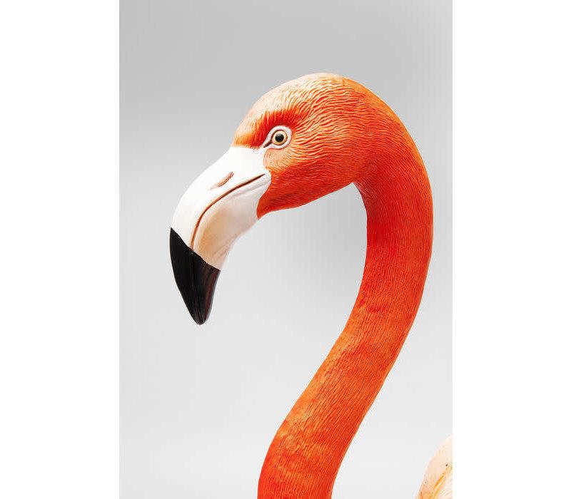 Beeld- Staande flamingo