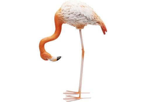 Karé Beeld- Buigende flamingo