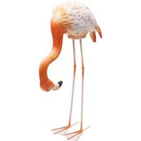 Beeld- Buigende flamingo
