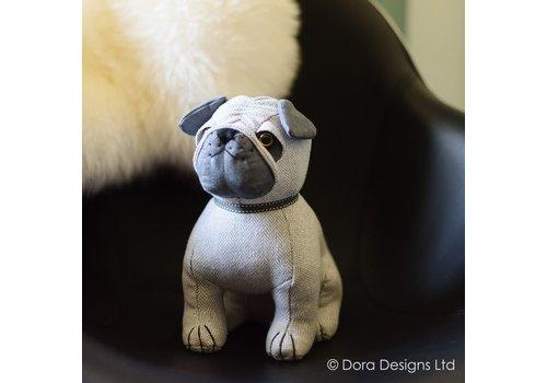 Dora designs Deurstopper Pug Prudence