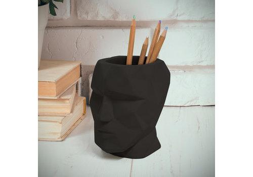 Balvi Pen houder The Head zwart