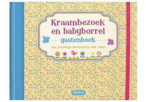 Deltas Gastenboek Kraambezoek en babyborrel