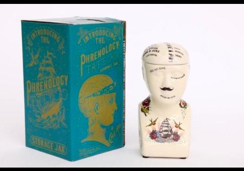 Temerity Jones Phrenology Head- small