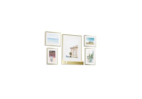 Matinee - set fotolijsten goud
