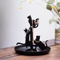 Sieradenstandaard- katten