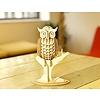 Kikkerland 3D houten puzzel van een uil