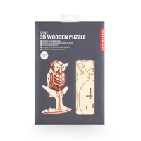 3D houten puzzel van een uil