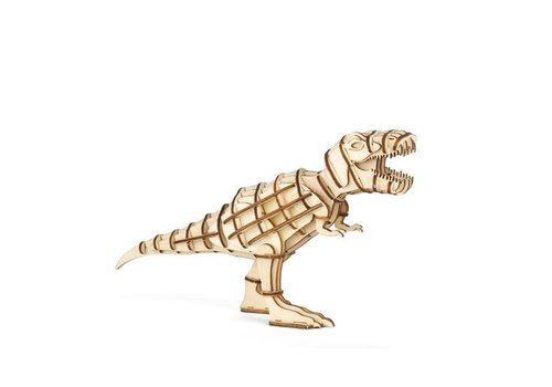 Kikkerland 3D T-Rex wooden puzzle