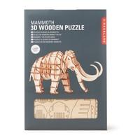 3D Mammoet houten puzzel