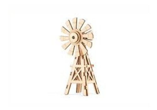 Kikkerland 3D houten puzzeltje windmolen