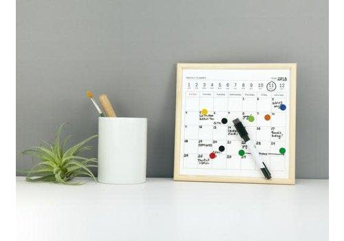 Kikkerland Mini white board calender