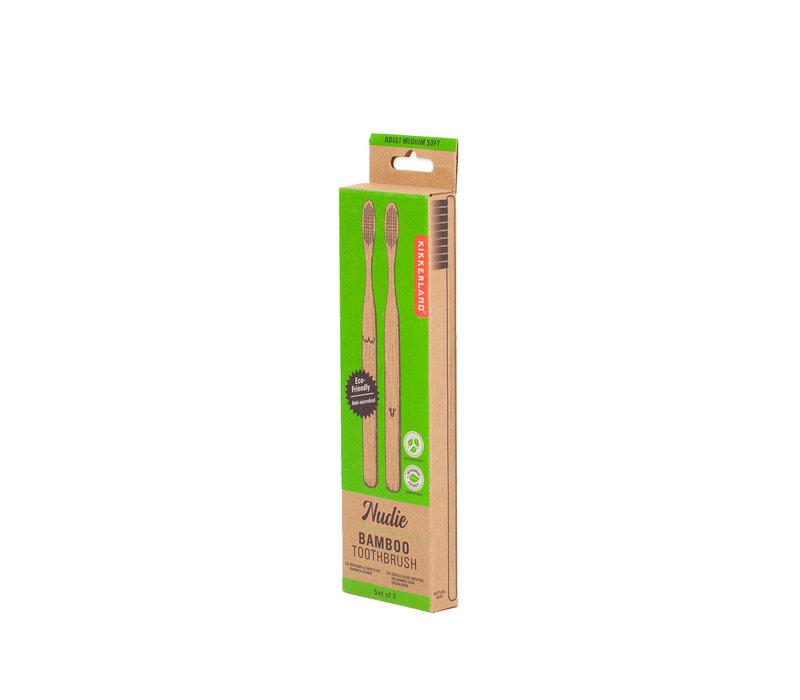 Nudie bamboe tandenborstels