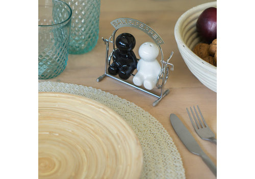 Balvi Salt-pepper set,Salt&Pepper,metal/ceramic