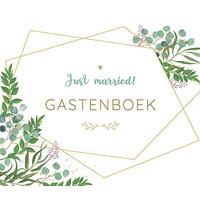 Just married gastenboek