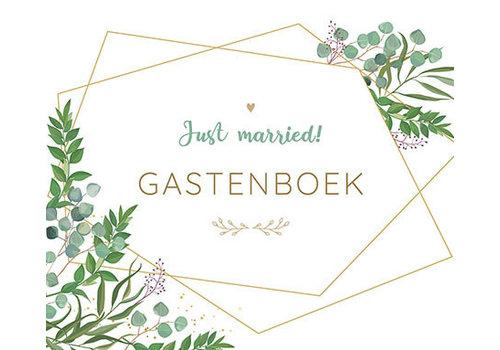 Deltas Just married gastenboek