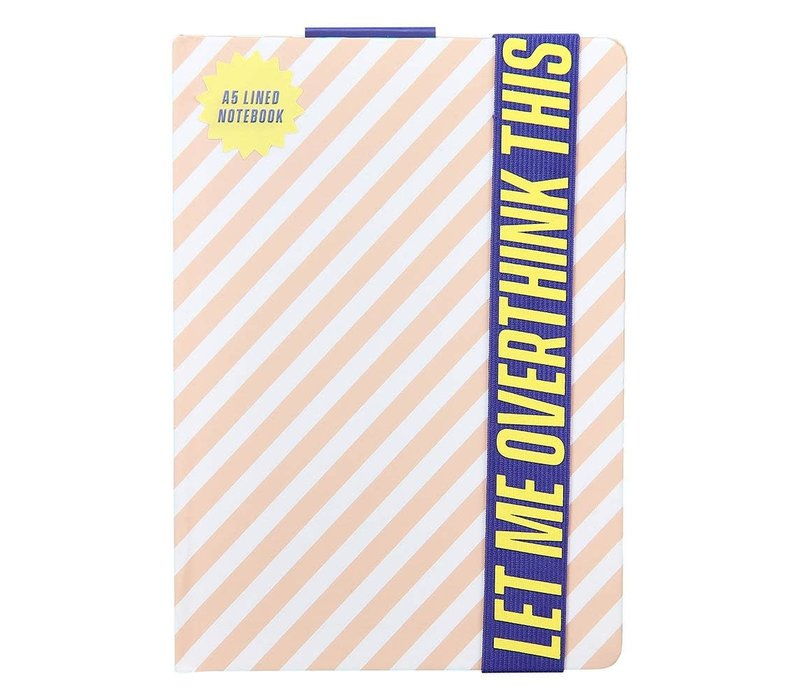 A5 Notebook | Let Me Overthink This | Notitieboek