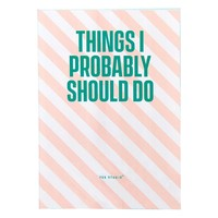 A6 Mini Notebook | Things I I Want