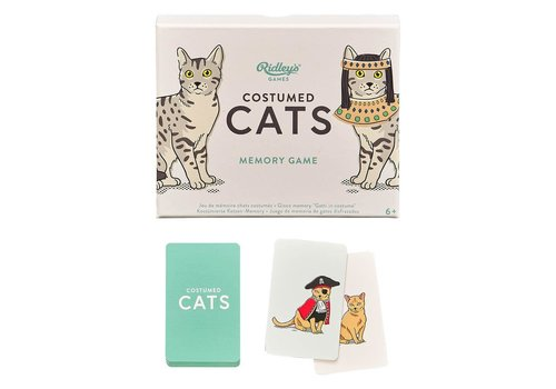 Wild & Wolf Costumed Cats Memory Game