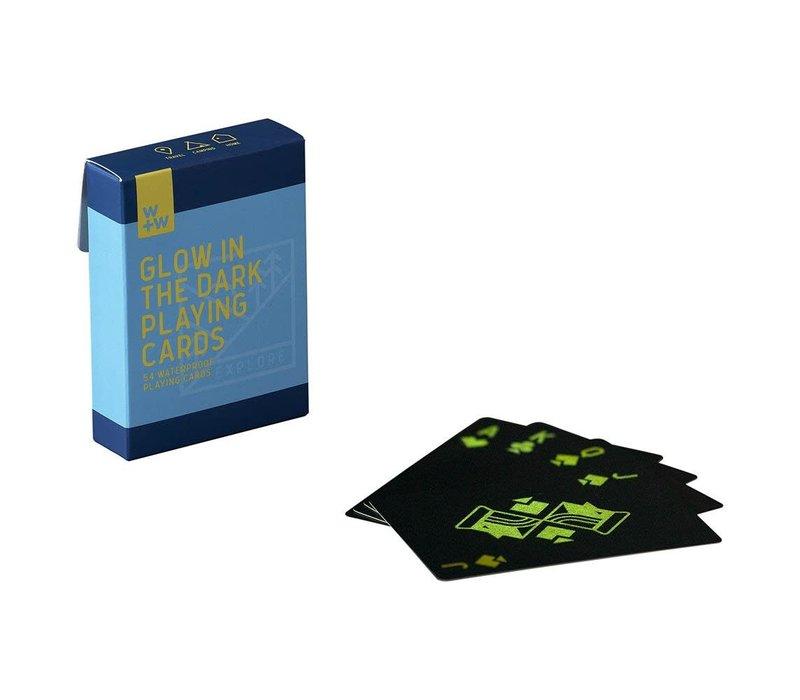 Glow In The Dark Campfire Playing Cards   Speelkaarten