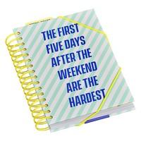 Planner Weekend | Agenda