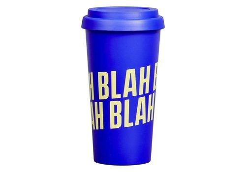 Wild & Wolf Travel Mug | Blah Blah Blah | Drinkbeker