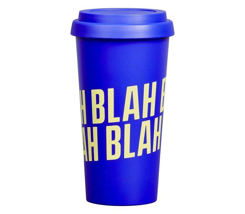 Travel Mug | Blah Blah Blah | Drinkbeker